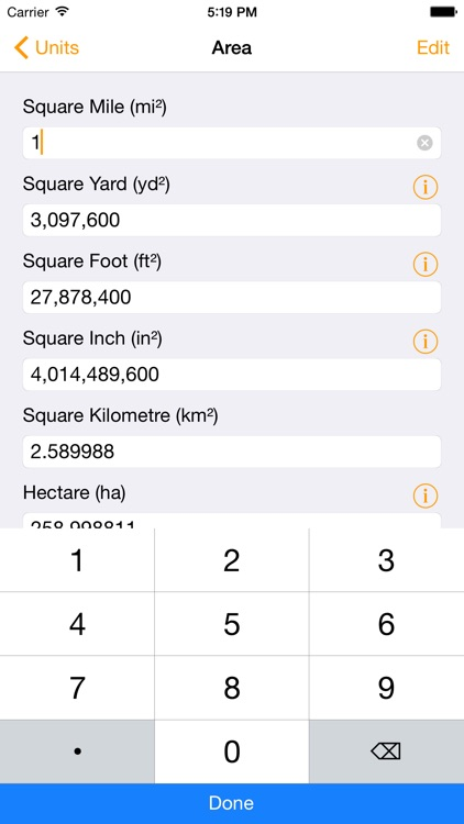 Units - Free Unit Converter screenshot-0