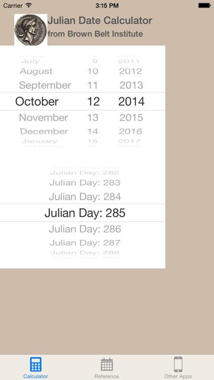 Julian Date Calc