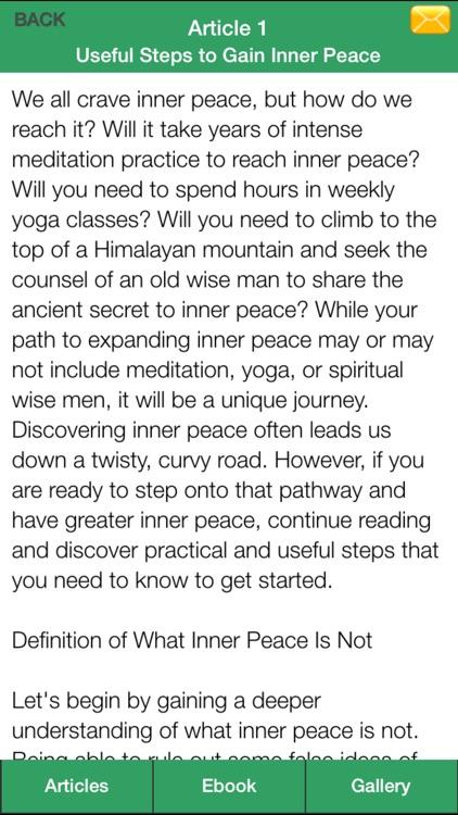 Zen Inner Peace - Create an Inner Peace Successfully! screenshot-4