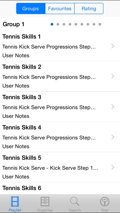 Tennis Skills screenshot-1