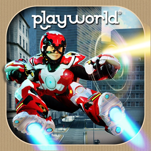 Playworld Superheroes is Currently on sale for $0.99, so Get to it