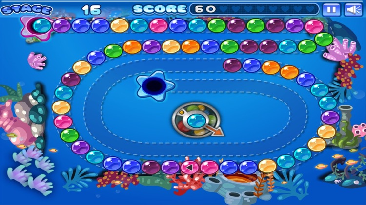 Candy Marble Shooter screenshot-3