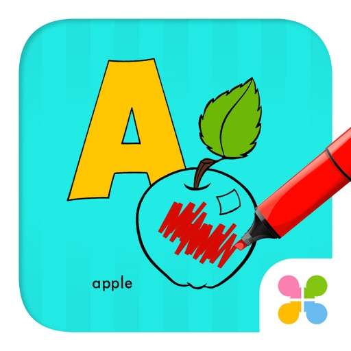 Alphabetic & Numbers Coloring Book