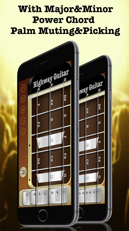 Highway Guitar - The Way You Rock (Virtual Electric Real Pocket Guitars Play Songs Like Your Guitar Hero With Chords Solo Easy Music Simulator Game Tools)