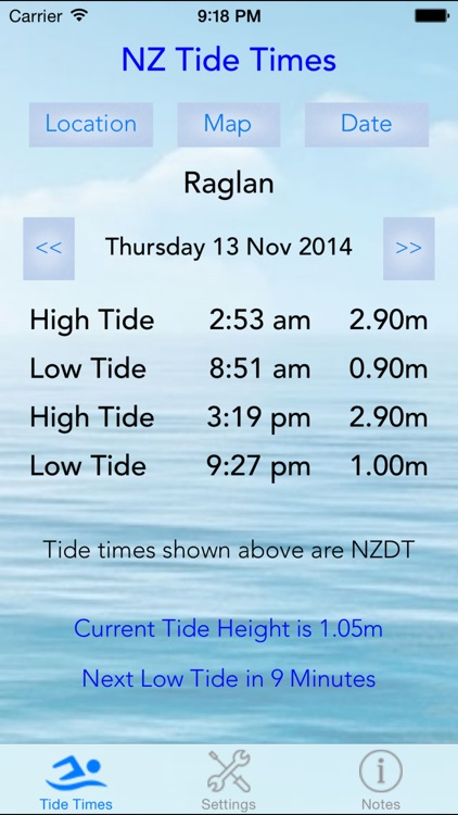 NZ Tide Times screenshot-0