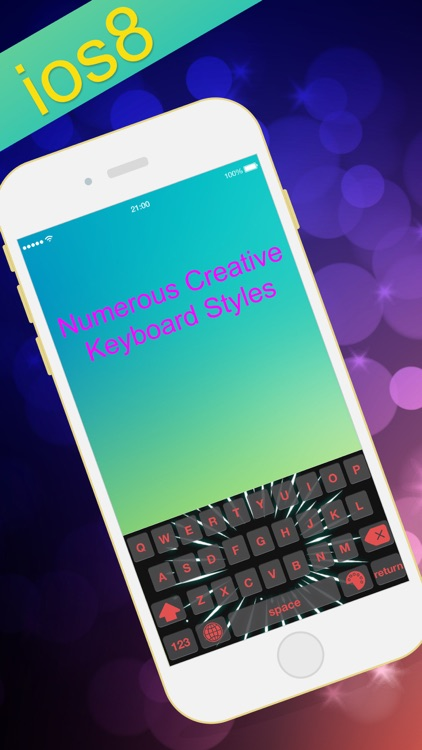 Live Keyboard For iOS 8