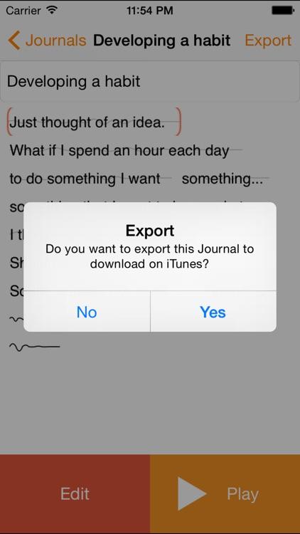 Audio Journal screenshot-3
