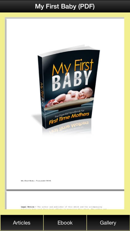 Pregnancy First Baby - All Information You Need To Prepare For Your First Baby After Pregnancy