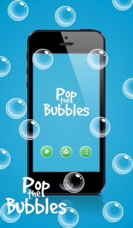 Pop the bubbles !