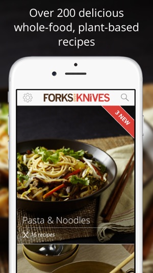 Forks Over Knives - Healthy Recipes & Easy Meals on the App Store