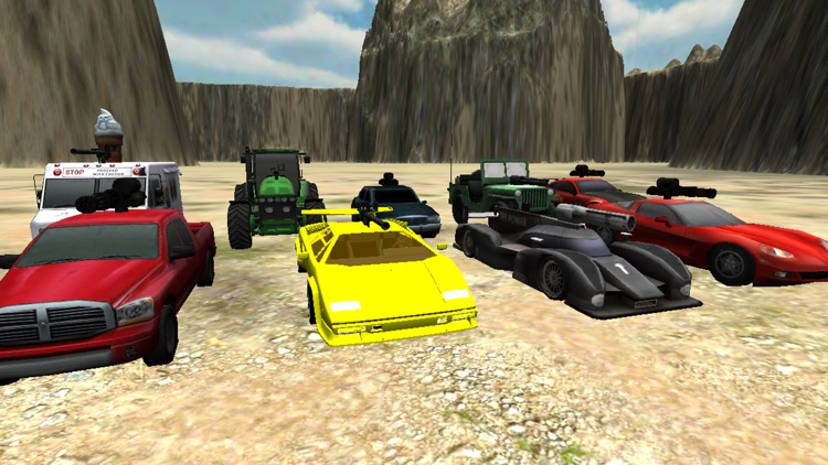 Battle Car Wreck - Vehicular Combat Action