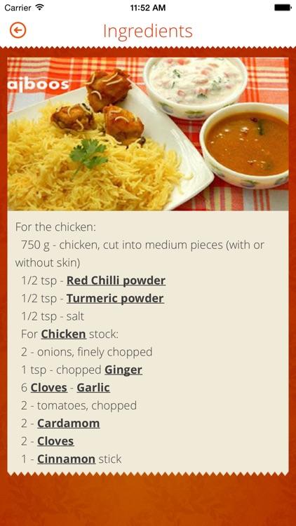 INDIAN RECIPES. screenshot-4