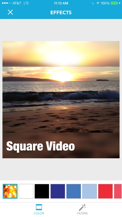 Square Video for Instagram & Vine