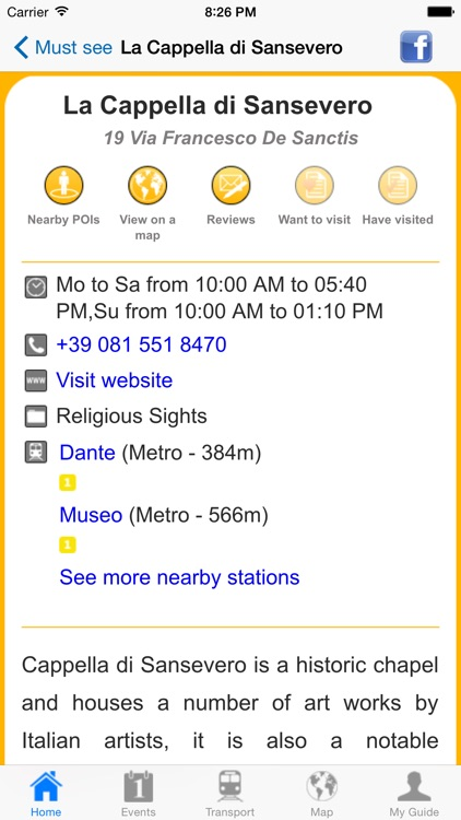 Naples Travel Guide Offline screenshot-3
