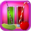 Healthy Juice Maker - Juicy Vegetable Smoothie with Orange, Apple, Carrot, Straw-Berry & Cream-y Fruit