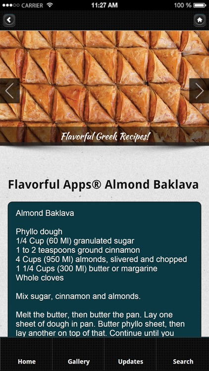 Greek Recipes from Flavorful Apps® screenshot-2