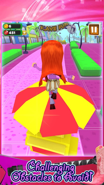 3D Fashion Girl Mall Runner Race Game by Awesome Girly Games FREE