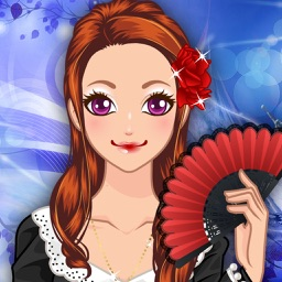 Flamenco Girl Make Up Salon - Pretty makeover game for girls and kids