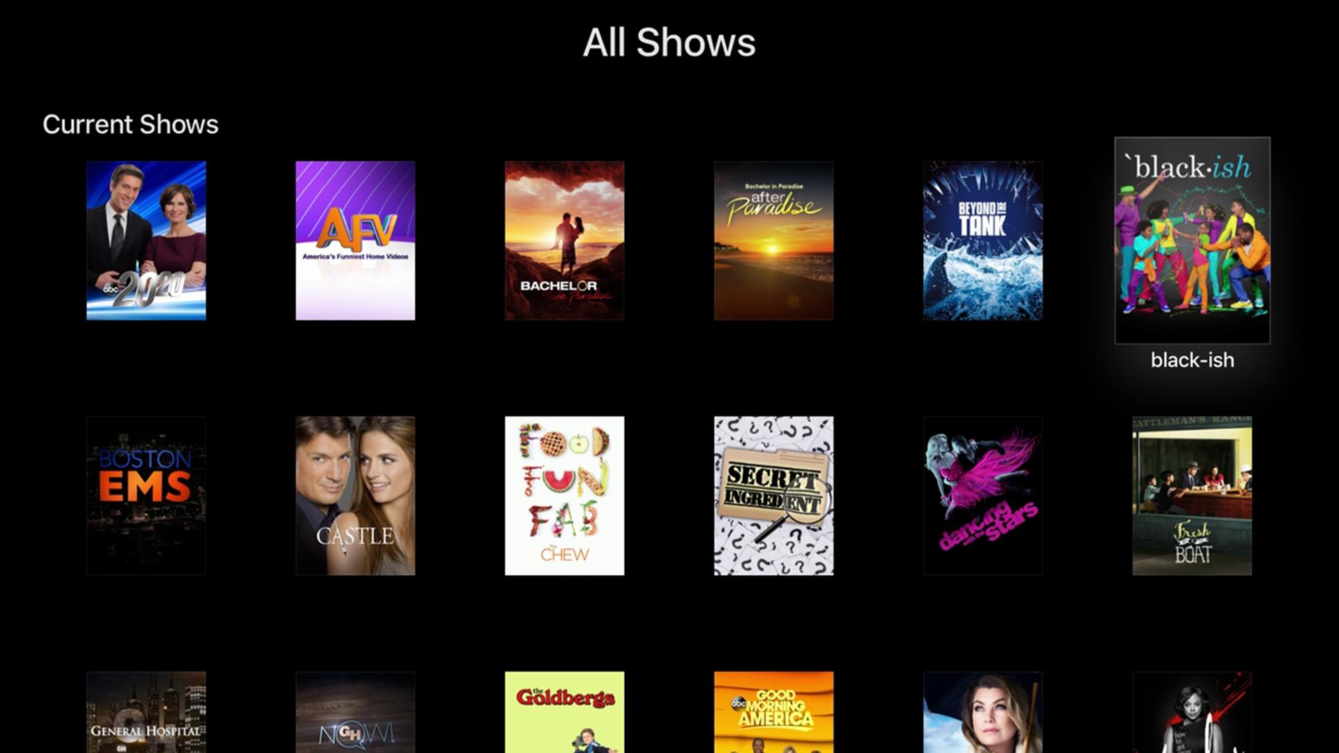 ABC – Live TV & Full Episodes screenshot 10