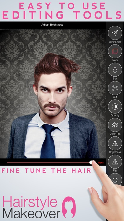 Hairstyle Makeover Premium - Use your camera to try on a new hairstyle screenshot-2