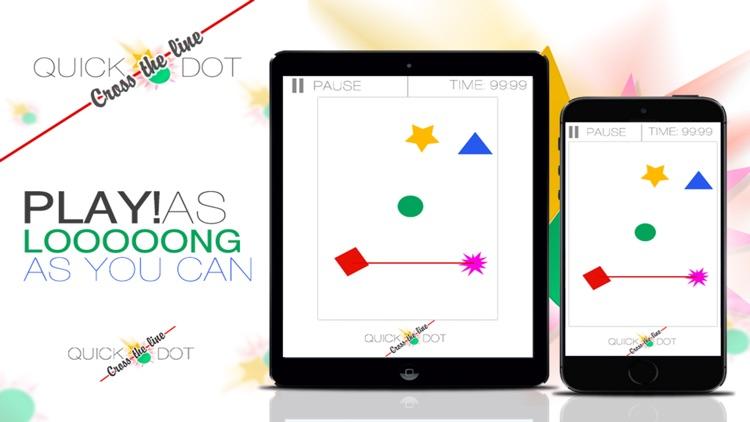 Quick Dot Cross The Line screenshot-3