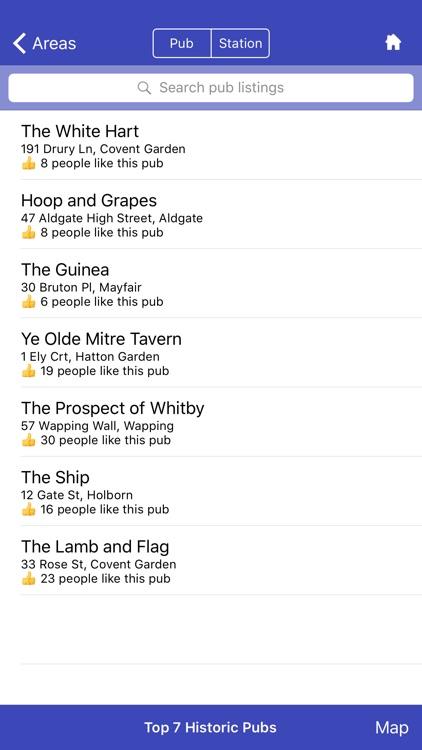 Top 7 London Pubs