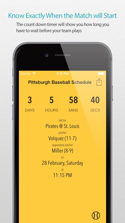 Pittsburgh Baseball Schedule Pro — News, live commentary, standings and more for your team!