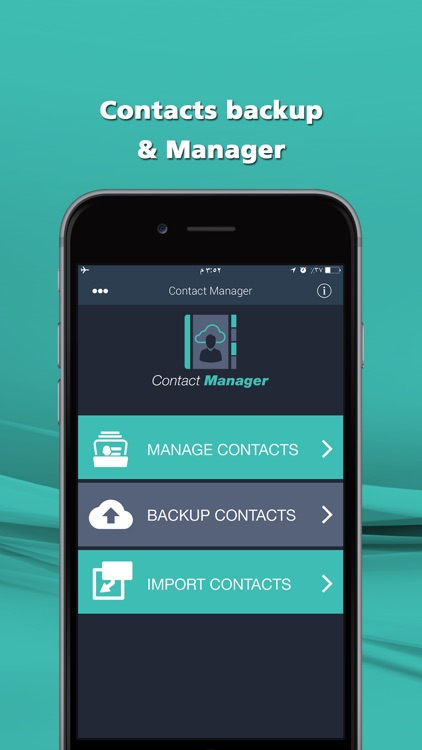 Contacts Manager - ِEdit Contacts & Backup on Dropbox, iCloud and Google drive
