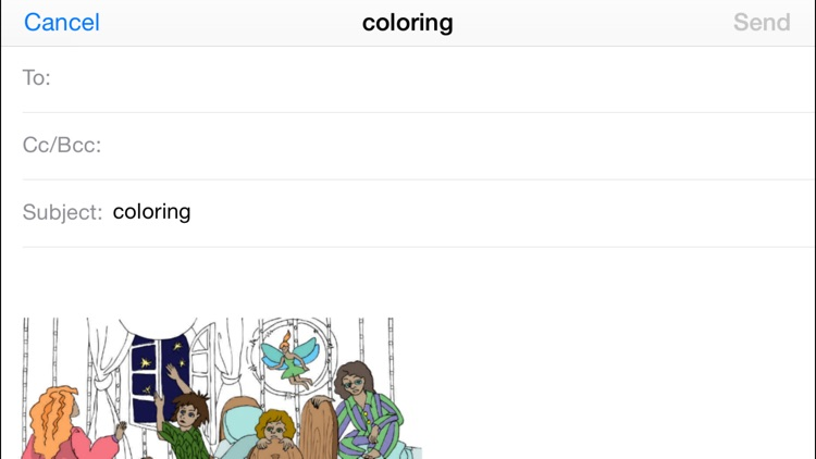 Peter Pan. Coloring book for children screenshot-3
