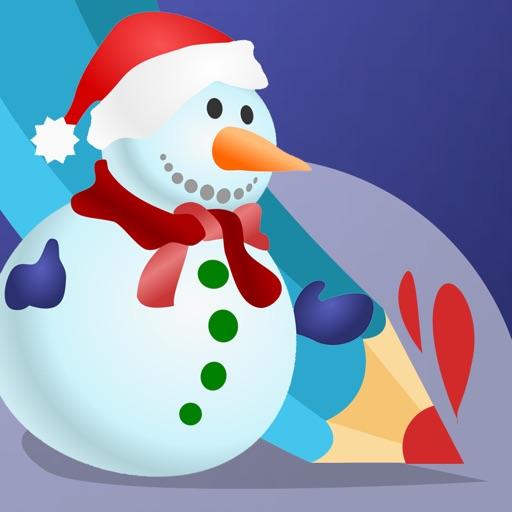 Активность! Книжка-раскраска Рождество Для Детей: Apprendre À Peindre Много Фотографий, Как Санта-Клаус