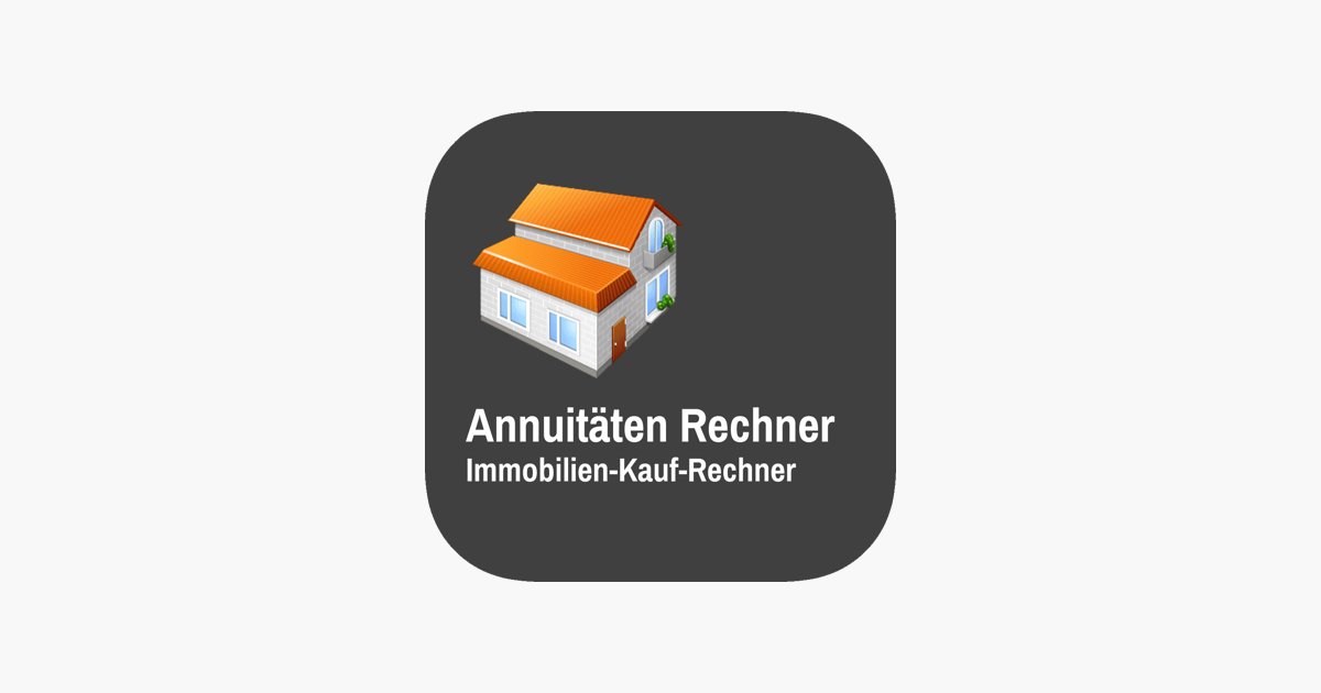 app store annuit ten rechner immobilien kauf rechner. Black Bedroom Furniture Sets. Home Design Ideas