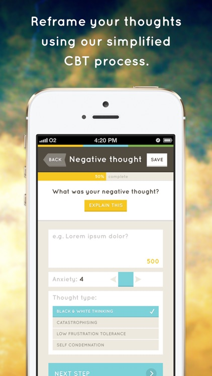 Stress & Anxiety Companion - the beautifully designed CBT app that can help you feel better screenshot-3