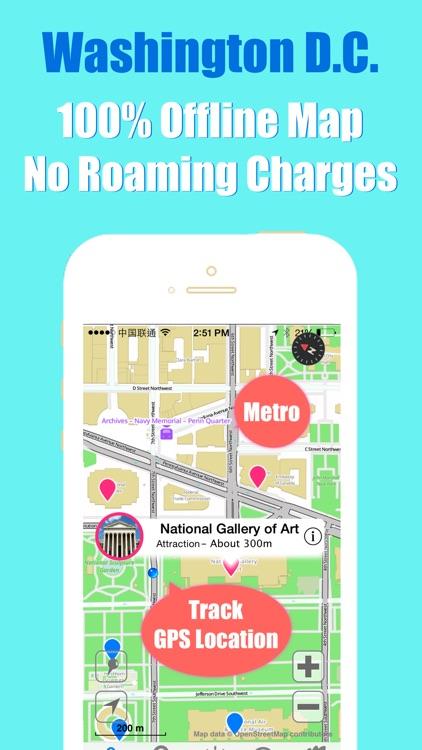 Washington DC travel guide and offline city map, Beetletrip Augmented Reality Washington D.C. Metro Train and Walks screenshot-3