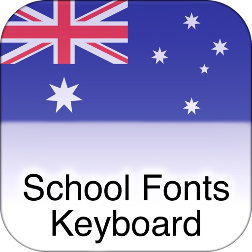 SchoolFonts Keyboard - AU/NZ Lowercase and Uppercase