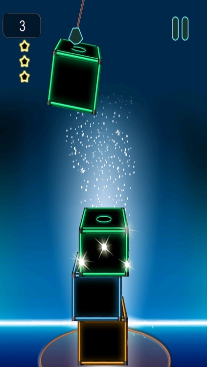 A Neon Stacked Boxes Of State Bright - In Glowing Cubed Light Glory Game Free screenshot-2