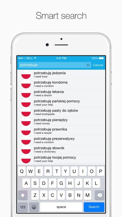 Polish – English Dictionary screenshot-4