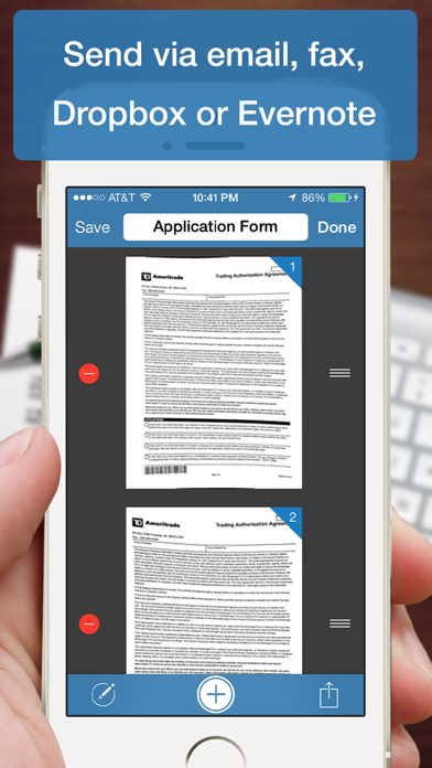 Scanner Deluxe - Scan and Fax Documents, Receipts, Business Cards to PDFのおすすめ画像4