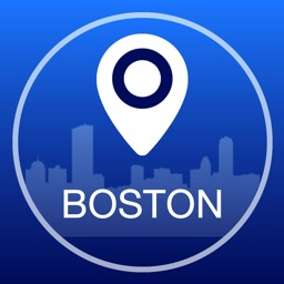 Boston Offline Map + City Guide Navigator, Attractions and Transports