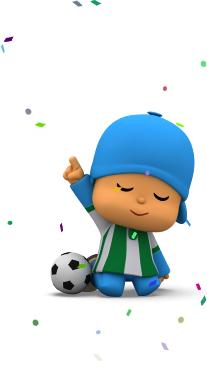 Talking Pocoyo Football Free screenshot-3