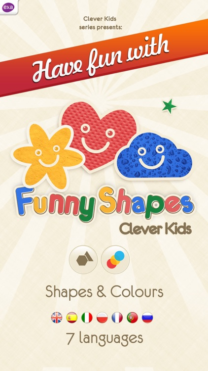 Funny Shapes for Kids by ExaMobile S A