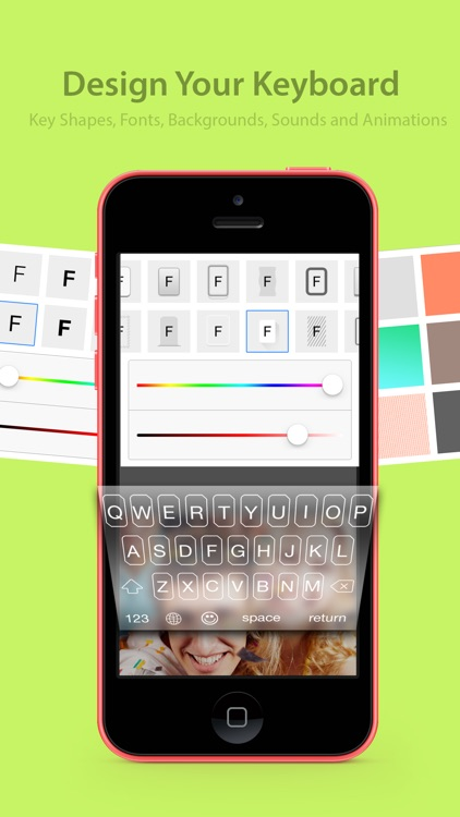 CooolKey - Keyboard for color lovers