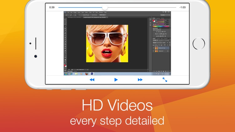 Tutorial for Photoshop - How To Video screenshot-3