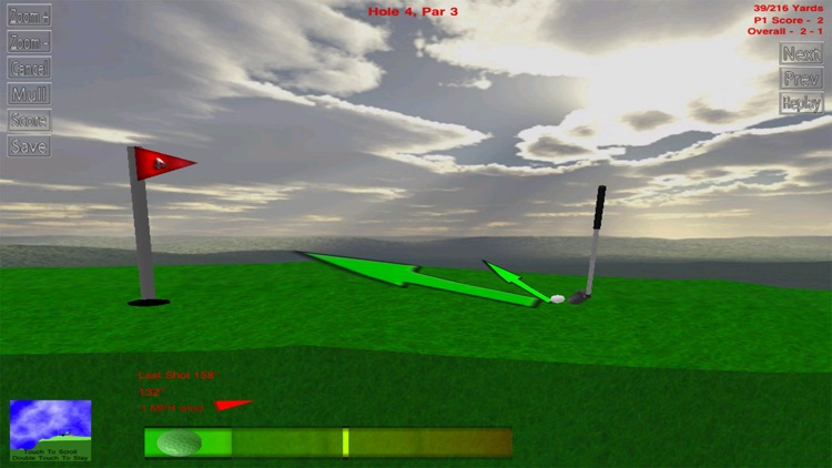 Rocket Golf Lite screenshot-3