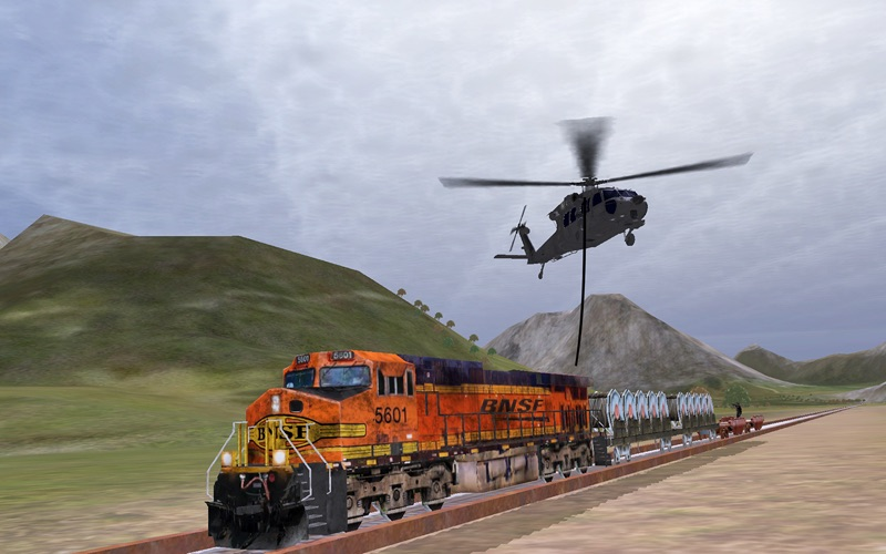 Helicopter Sim Pro - Hellfire Squadron screenshot 3