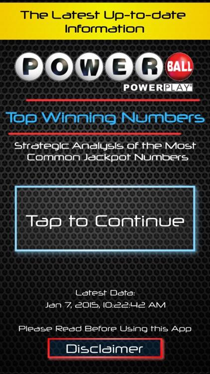 Powerball Smart Numbers