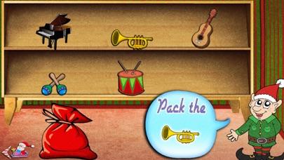 Santa's World Free: An Educational Christmas Game for Kids and Elves screenshot three