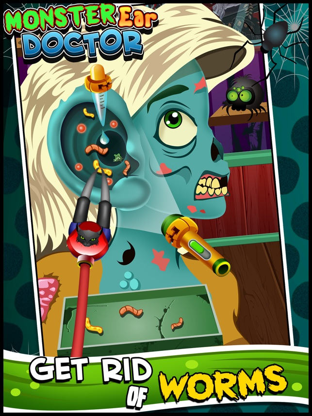 Awesome Demon Ear Doctor Office - Virtual Monster Ear Care Surgery & Makeover Games for Kids