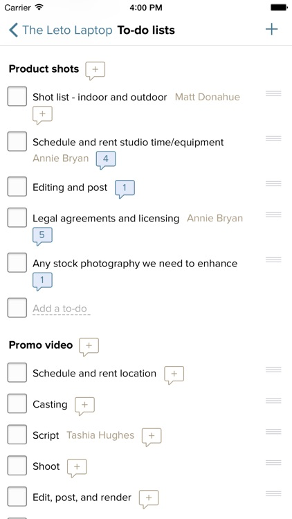 Basecamp 2 for iPhone screenshot-3