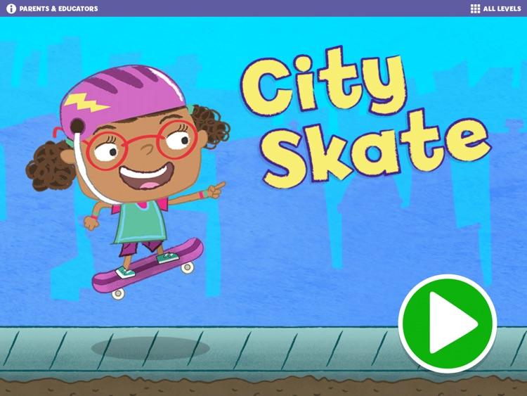 Gracie & Friends City Skate screenshot-0