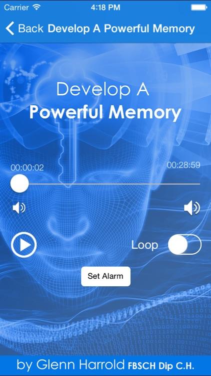 Develop A Powerful Memory by Glenn Harrold